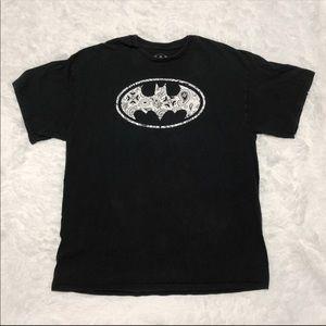 Men's Batman Bandana Logo T-Shirt